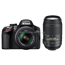 Nikon D3200 Digital SLR Camera Kit with 18-55mm and 55-300mm Lens Dropship DGS