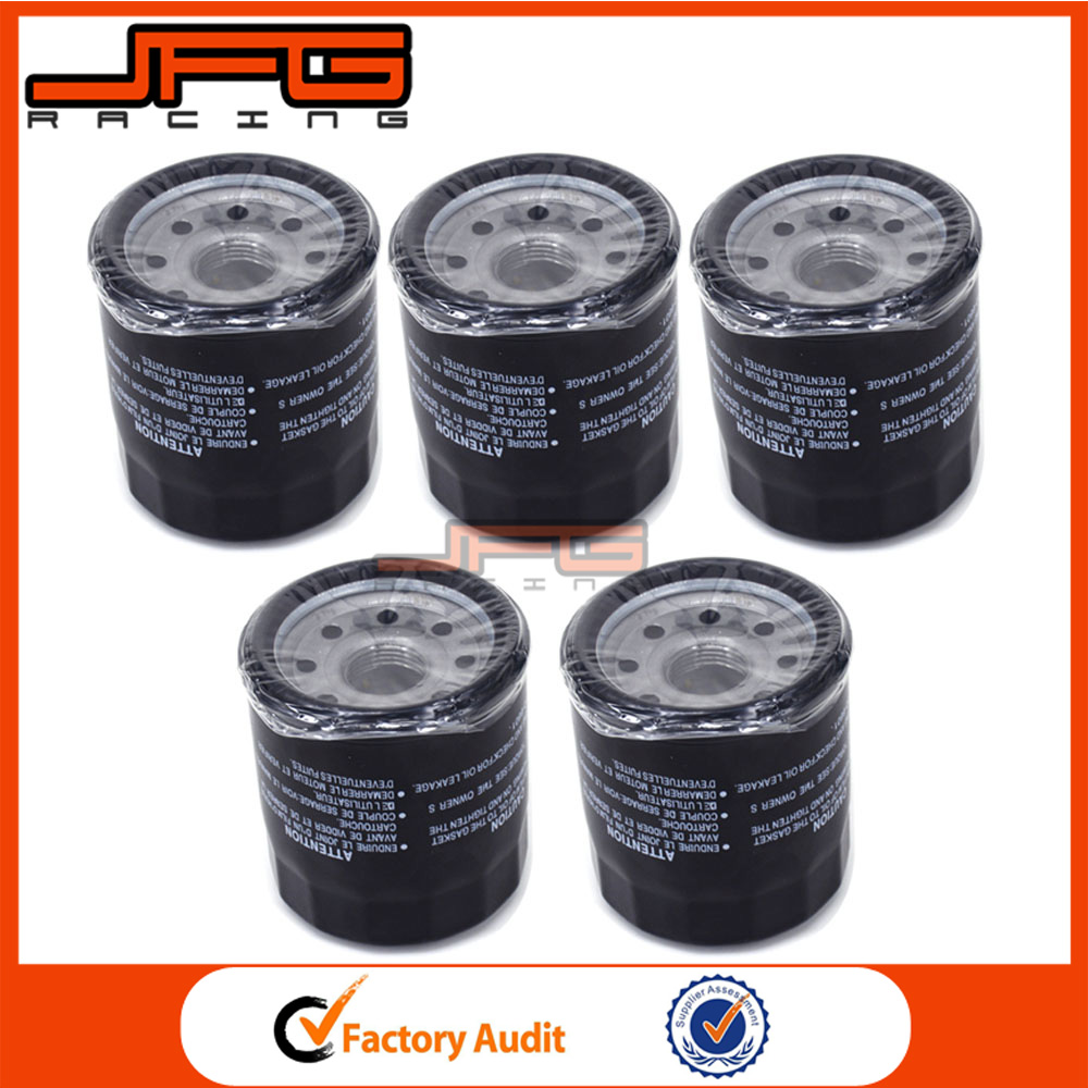 5 X Oil Filter Cleaner For SUZUKI GSX1400 S83 VS1400 C90 VL1500 M109R VLR1800 C1800R VZR1800 Intruder M1800R AN650 Burgman