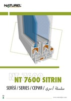76 mm SLIDING uPVC PROFILE
