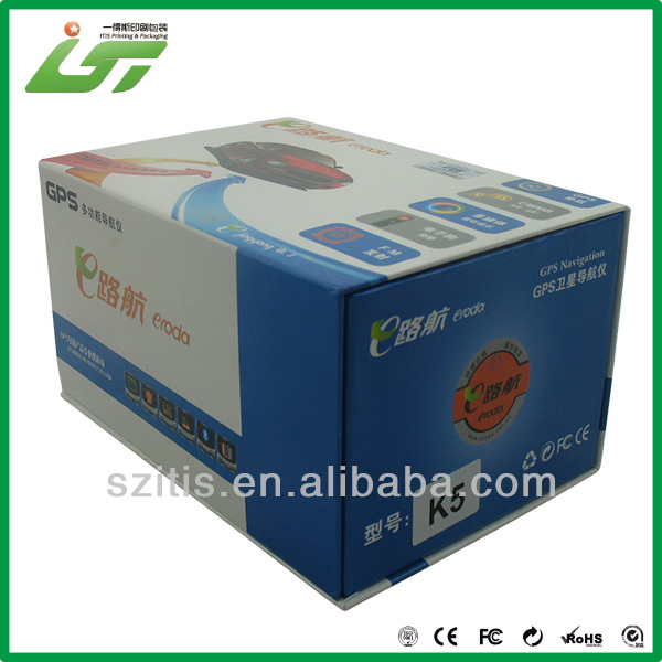 color printed school box cardboard with logo