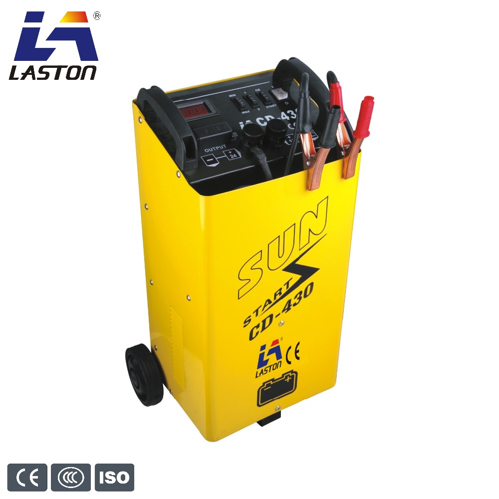 Portable movable quick boost starter car battery charger cd-430