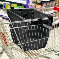 hotsale shopping grocery bag for supermarket trolleys carrier bag