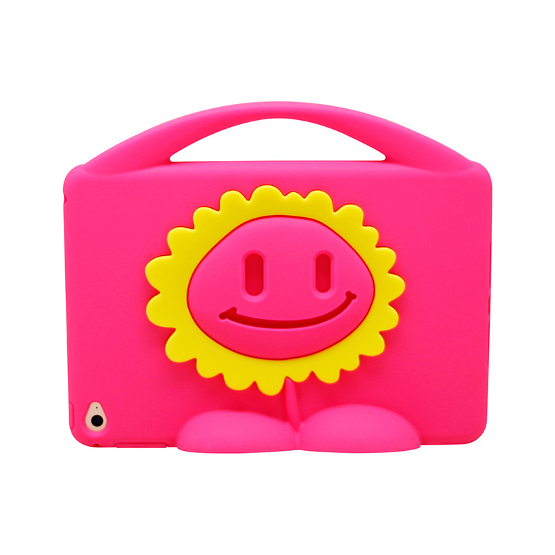 2016 cute sunflower cover computer tablet case For ipad Mini 4 Case