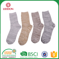 High Grade Fabric Ribbed Women Cotton Foot Tube Socks, Custom Wholesale Design Socks