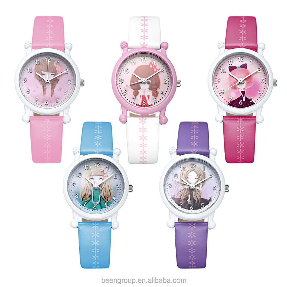 hot sale cute pig children watch quartz japan movement children gift watch k1466