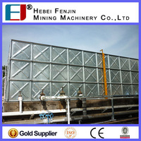 Hot Dipped Galvanized Water Storage Tank For Drinking Water