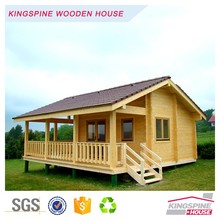 Wooden Log Cabin Prefab House Made in China with Good Quality KPL-002