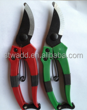 Manufacturer hot selling,OEM/ODM,household garden tools,secateurs,bend branches cut,pruning shears,in stock