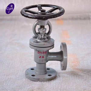 carbon steel globe valve with hand wheel angle valve