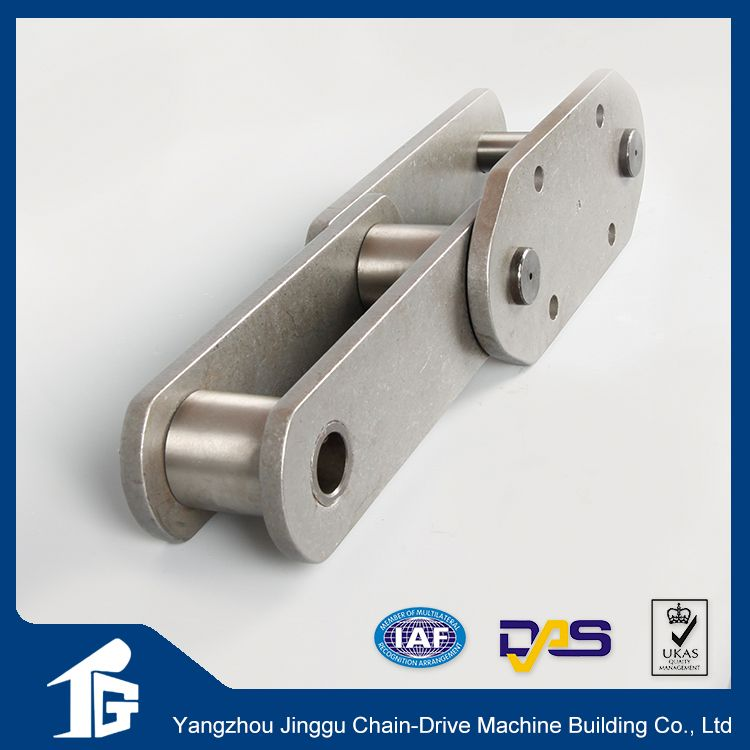 Drag conveyor chains parts with attachment