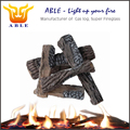 Electric Fireplace Insert Logs Replacement Logs Set Simulated Wood 5pcs Sets S08-04