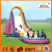 Amazing FUN hot! inflatable water slide with CE