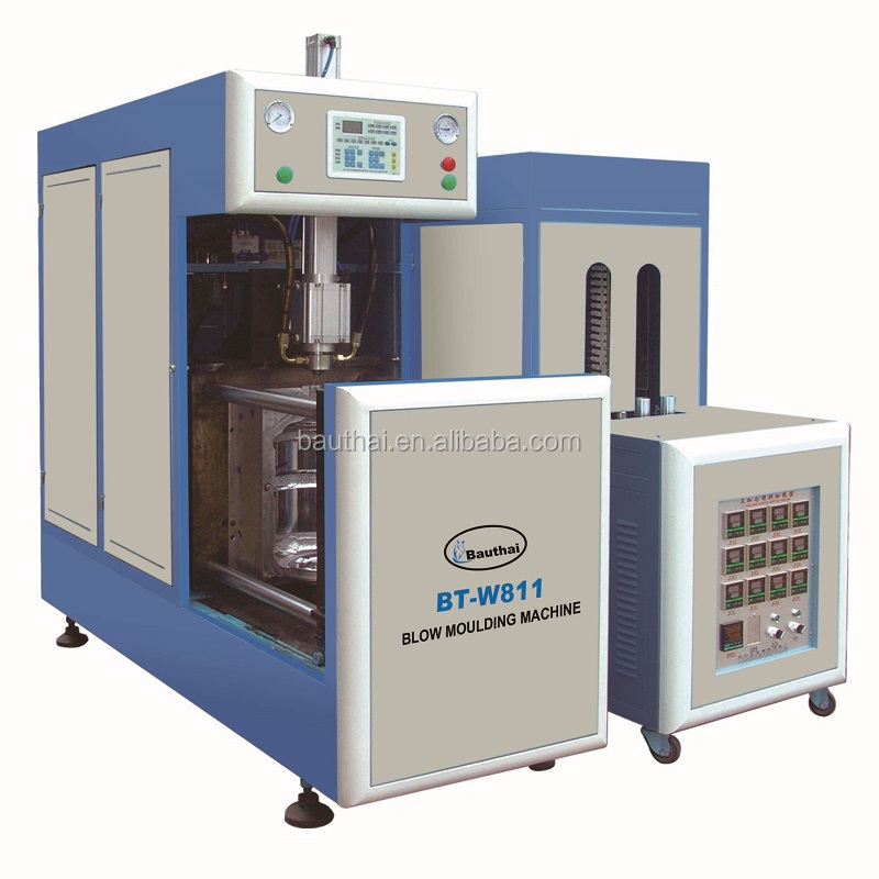 the rate of finished bottle is up to 99.5% blow moulding machine for 5 gallon semi-automatic
