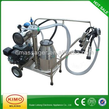 New Style Portable Gasoline Single Milking Machines For Cows,Small Milking Machine