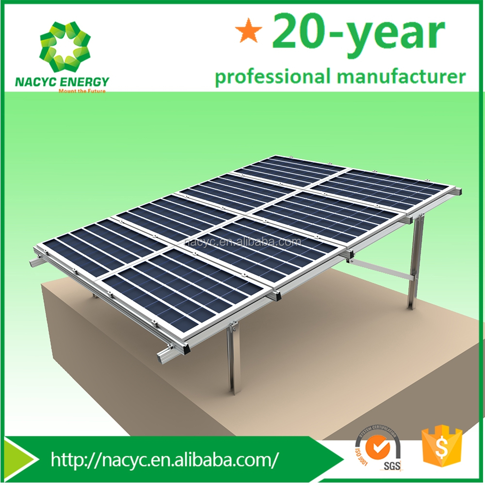 3000W Large- Scale cost saving Excellent Solar Mounting System Ground Nacyc Energy