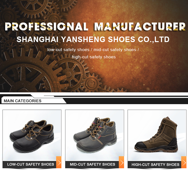 High Quality New Type Sell Well China Men Leather Work Shoe