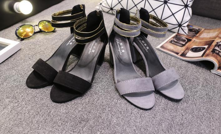 Factory wholesale lady elegant shoes women high shoes