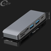 Desktop Aluminium Trending Mini Usb 3.0 Super Speed 4 Port Hub Fabrikant Universal Type C Computer