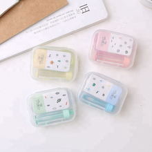 High Quality Contact Lens Case with Mirror Contact lens Container Wholesale