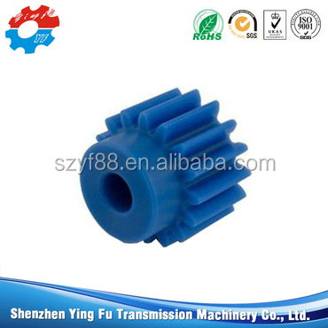 Latest products nylon plastic gear buy direct from China factory