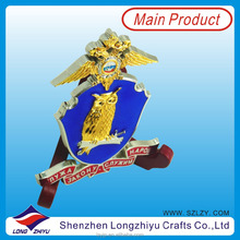 China Home and Wall Decor Wholesale New Metal 3D Decoration Gift