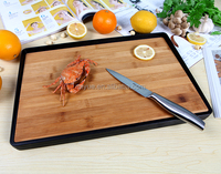 Double sides use bamboo board for cutting vegetable
