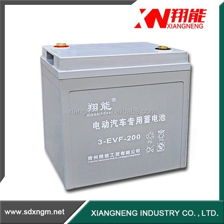 China battery manufacture 12v 200ah golf cart battery