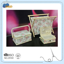 D&D Knitting display Stand high quality sewing basket box