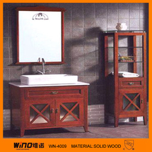 2012 newly design hot sale plywood bathroom cabinet