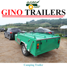 4x4 soft floor atv tent trailer for camping