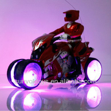 New Product ! 7CH Rc Drift Motorcycle with light&music,rc stunt car ( 930 )