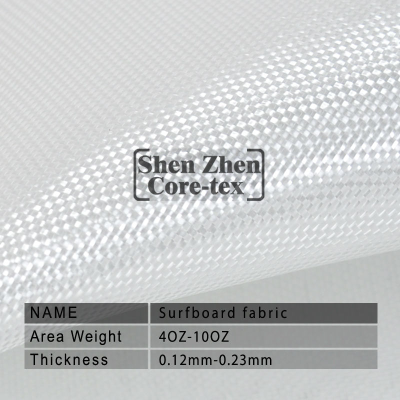 high clarity fiber glass cloth for fishing boat