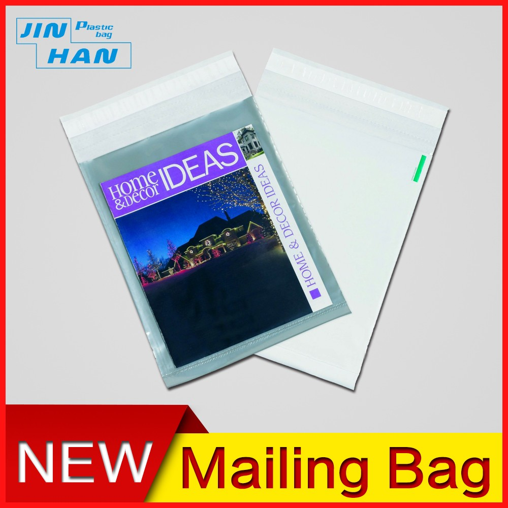 Co-extruded Black Custom DHL Postage Bags