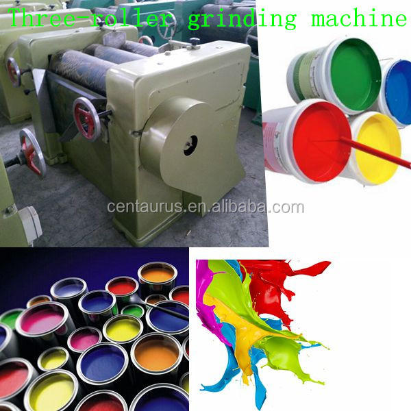 Advanced Manual water-based ink grinding machine with best price