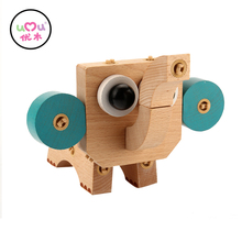 puzzle cute pet club Wooden Toys Educational For Kids