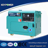 keypower 50/60hz single three phase best quality portable air cooled generator with 5kw/kva best price ce iso certified