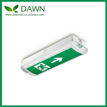 Wall-Mounted Customized 8 Watt LED Emergency Exit Sign lighting