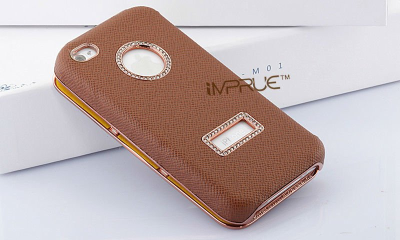 leather bag case for iphone 4/4s