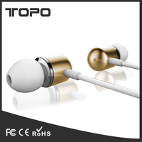 For samsung headphone mobile phone earphone with mic volume control mobile earphone