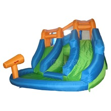 cheap residential inflatable water slides kids inflatable mini water slide water park