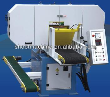 Horizontal Band Saw Machine SHWD650 with Max. working size 650x300mm and Process wood board thickness 2-80mm