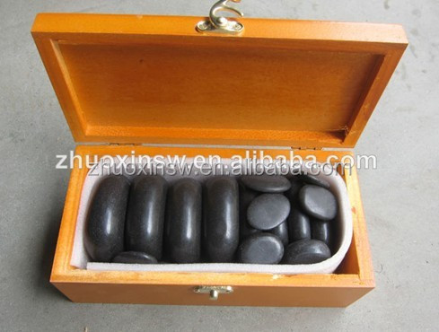 Home use spa enjoyable massage stone(20pcs/set)