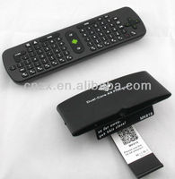 2013 best Android dual core mini pc MK818 with Smart camera + RC 11