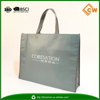 Recycled plastic shopping bag pp non woven tote bag