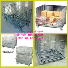 Warehouse/Industrial Stackable Forklifts Storage Wire Mesh Container