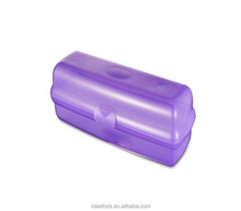 Wrap Container/Hot dog container/Plastic folding food container