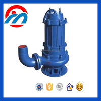 WQ AC electric single phase sewage drainage submersible water pump