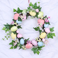plastic foam decorating wreath ring easter egg wreath