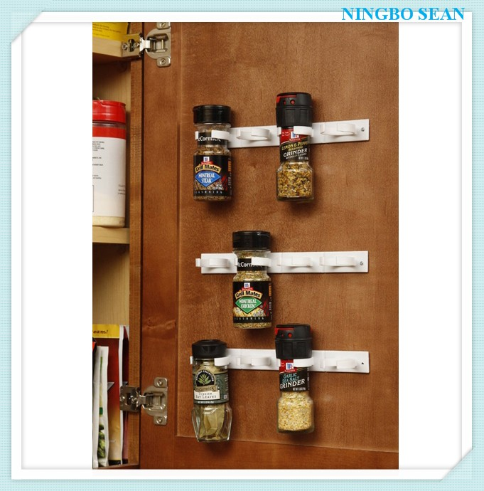 Spice Organizer Rack Cabinet Door Spice Clips Spice Holder kitchen Accessories