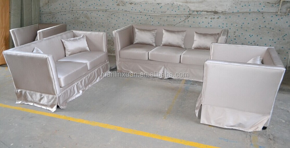 UAE mercerized cotton sofa set furniture XYN540